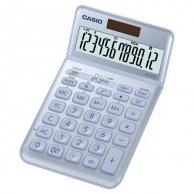 Casio Kalkulator JW 200 SC BU, srebrny, 12 miejsc, uchylny wyświetlacz, podwójne zasilanie