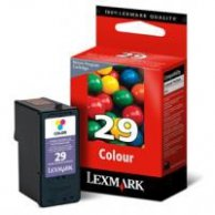 Lexmark oryginalny ink 18C1429E, #29, color, return, Lexmark Z845, P350, Z1300, Z1320