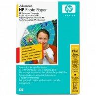 HP Advanced Glossy Photo Pa, foto papier, połysk, zaawansowany, biały, 10x15cm, 4x6, 250 g/m2, 25 szt., Q8691A, atrament,bez marg