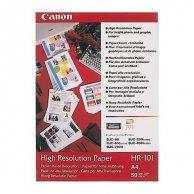 Canon High Resolution Paper, foto papier, wodoodporny, biały, A4, 106 g/m2, 50 szt., HR-101 A4/50, atrament