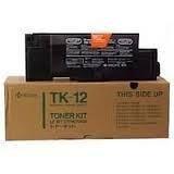 Kyocera Mita oryginalny toner TK12, black, 10000s, Kyocera Mita FS-1550, 1600, 3400, 3600, 6500