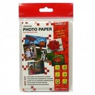 Logo foto papier, połysk, biały, 10x15cm, 4x6, 260 g/m2, 2880dpi, 20 szt., 16720, atrament