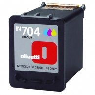 Olivetti oryginalny ink B0629, cyan/magenta/yellow, 18ml, high capacity, Olivetti Olivetti Linea Office/ Olivetti Linea Office Wif