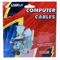 Audio Kabel 4pin-4pin(audio), F/F, 0.6m, Logo, wewnętrzny, audio