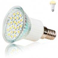 LED żarówka Inoxled E14, 230V, 2W, 150lm, ciepła biel, 60000h, ECO, 24SMD, 3528