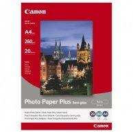 Canon Photo Paper Plus Semi-G, foto papier, półpołysk, satynowy, biały, A4, 260 g/m2, 20 szt., SG-201 A4, atrament