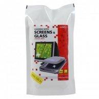 Środki czyszczące chusteczki jednorazowe do ekranów, uzupełnienie, 100szt., LOGO