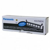 Panasonic oryginalny toner KX-FA83X, black, 2500s, Panasonic KX-FL513EX, KX-FL613EX