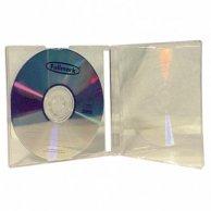 Box na 1 szt. CD, przezroczysty, przezroczysty tray, No Name, 10,4 mm, 200-pack