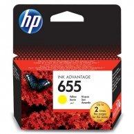 HP oryginalny ink CZ112AE#302, No.655, yellow, 600s, blistr, HP Deskjet Ink Advantage 3525, 5525, 6525, 4615 e-AiO