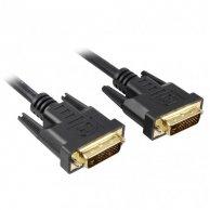 Video Kabel Dual link, DVI(24+1)-DVI(24+1), M/M20m, pozłacane końcówki, ekranowany, No Name