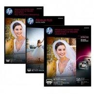 HP Premium Plus Glossy Pho, foto papier, połysk, biały, 13x18cm, 5x7, 300 g/m2, 20 szt., CR676A, atrament,do druku bez marginesu