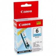 Canon oryginalny ink BCI6PC, photo cyan, 4709A002, Canon S800, 820D, 830D, 900, 9000, i950