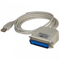 USB kabel (1.1), A-LPT, M/M, 2m, No Name, IEEE 1284