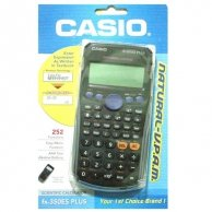 Kalkulator Casio, FX 350 ES PLUS, czarna