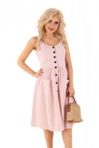 Eviniam Pink D89 sukienka