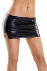 Glossy Shiny Wetlook skirt