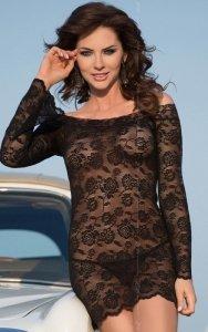 Lamia - black 1746 koszulka
