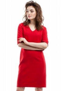 MOE215 Sukienka czerwona