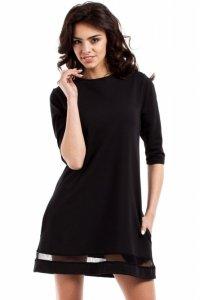 MOE219 Sukienka czarna