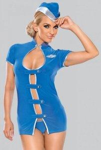 Kostium stewardessy 6516 niebieski