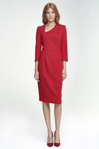 Sukienka Maddy - czerwony - S76