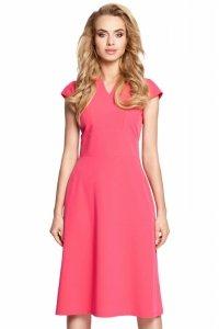 M312 Sukienka różowa