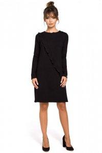 B053 sukienka czarna
