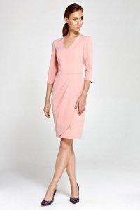 Sukienka - róż - S91