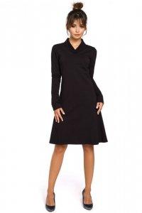 B044 sukienka czarna