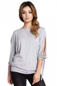 B036 bluzka szara