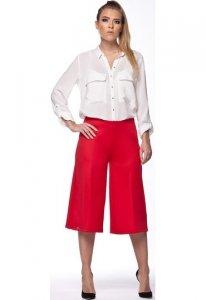 L111 spodnie 3/4 czerwony