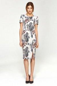 Dopasowana sukienka - wzór - S97