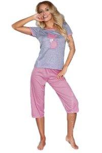 MODEL 718 PINK piżama