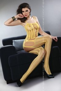 Almas Honey LC 17132 bodystocking miodowe
