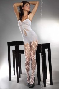 Artemida White LC 17066 bodystocking