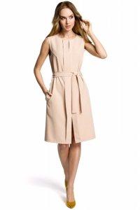 M365 Sukienka beżowa