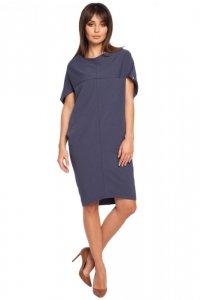 B002 sukienka niebieska