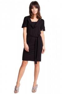 B010 sukienka czarna