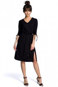 B068 Sukienka czarna