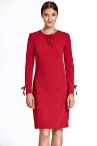 Sukienka cs24 - czerwony - CS24