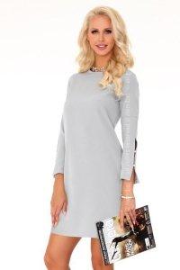 Mehvesa Grey 85318 sukienka