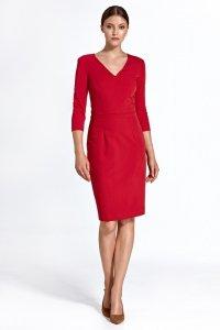 Sukienka cs23 - czerwony - CS23