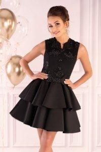 Karieela Black 90543 sukienka