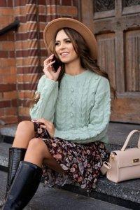 Riamili Green sweter
