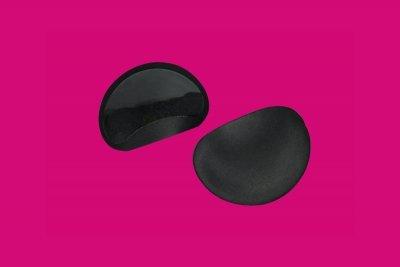WS 21 Wkładki z pianki push-up (samoprzylepne) czarny