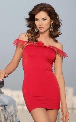 Adeline - red 1790 sukienka
