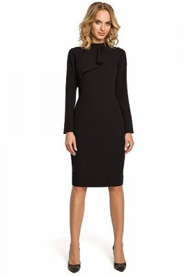 M325 Sukienka mała czarna