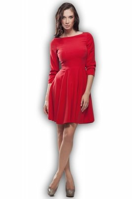 Sukienka - czerwony - S19