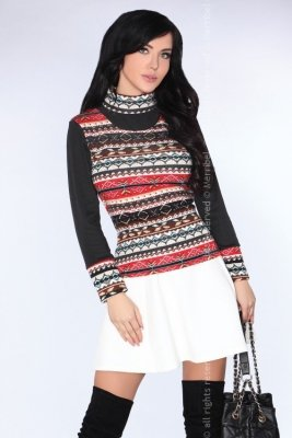 CG013 Black sweter